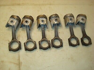 1961 Farmall Ih 460 Gas Tractor Pistons Connecting Rods