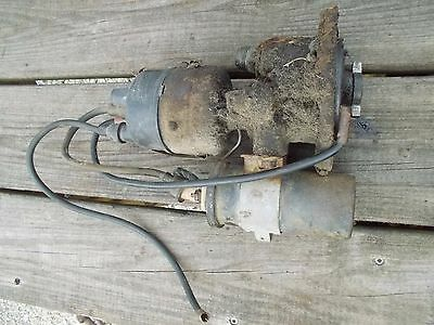Farmall 340 Tractor Good Ih Distributor Drive Assembly Wires Coil Tach Drive