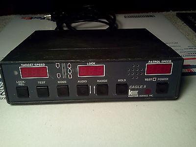 Kustom Signals Eagle Ii Radar Control Box