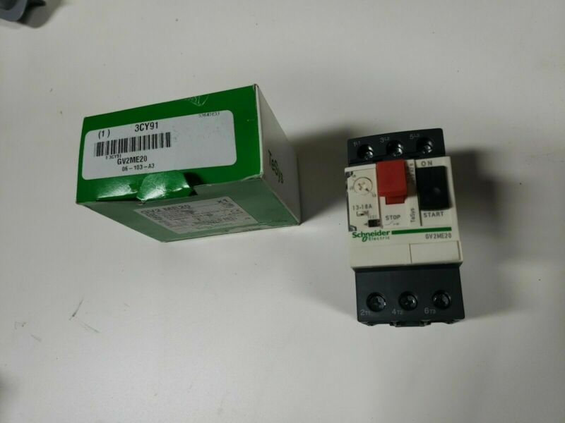 GV2 ME20 Schneider Electric TeSys Manual Motor Starter New 034319