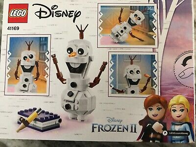 LEGO Disney Frozen II Olaf 41169 Pieces 122 New 2019 NEW
