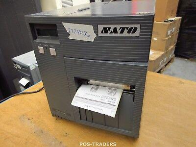 """SATO CL408E Parallel Thermo Label Drucker REWINDER 203dpi 4.1"""" 104mm - 22294.3 M"""