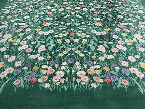 Karastan wild flowers pattern 509 9751 lg room sized rug 8 for Garden of eden xml design pattern