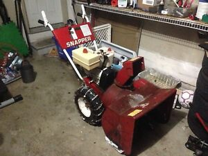 SNAPPER SNOWBLOWER FOR SALE