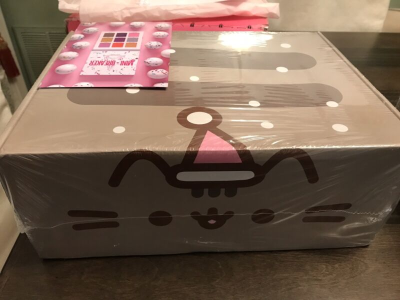 """""""Snow Day"""" PUSHEEN Winter 2018 Subscription Box Sealed Unopened New"""