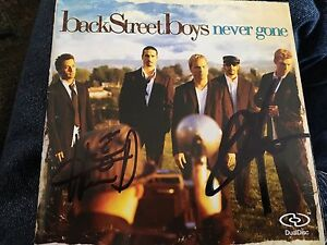 Backstreet Boys DVD CD autographs
