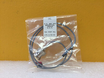 Tektronix 175-1178-00 Bnc M To Flying Leads Sync Cable. For Sg5000. New