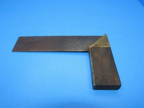 as-is Stanley No 1 try & miter mitre square Winterbottoms patent Type 1