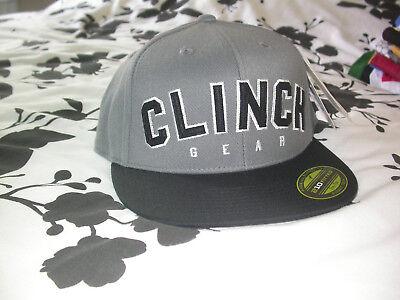 CLINCH GEAR BASEBALL CAP HAT FITTED XL  MMA BJJ JIU JITSU BOXING GYM KSW UFC NEW