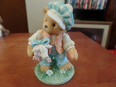 Ensco Cherished Teddies Tom  Tom The Pipers Son  1423
