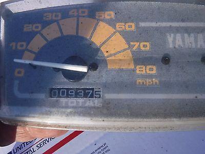 1997 8BE 009698 yamaha Ovation 340: SPEEDOMETER 937 miles