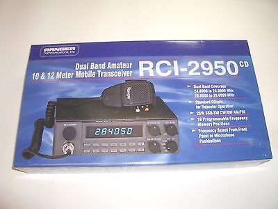 Ranger Rci2950dx Cd 10 12M Amateur Radio Am Fm Ssb Cw  New Color Display Version