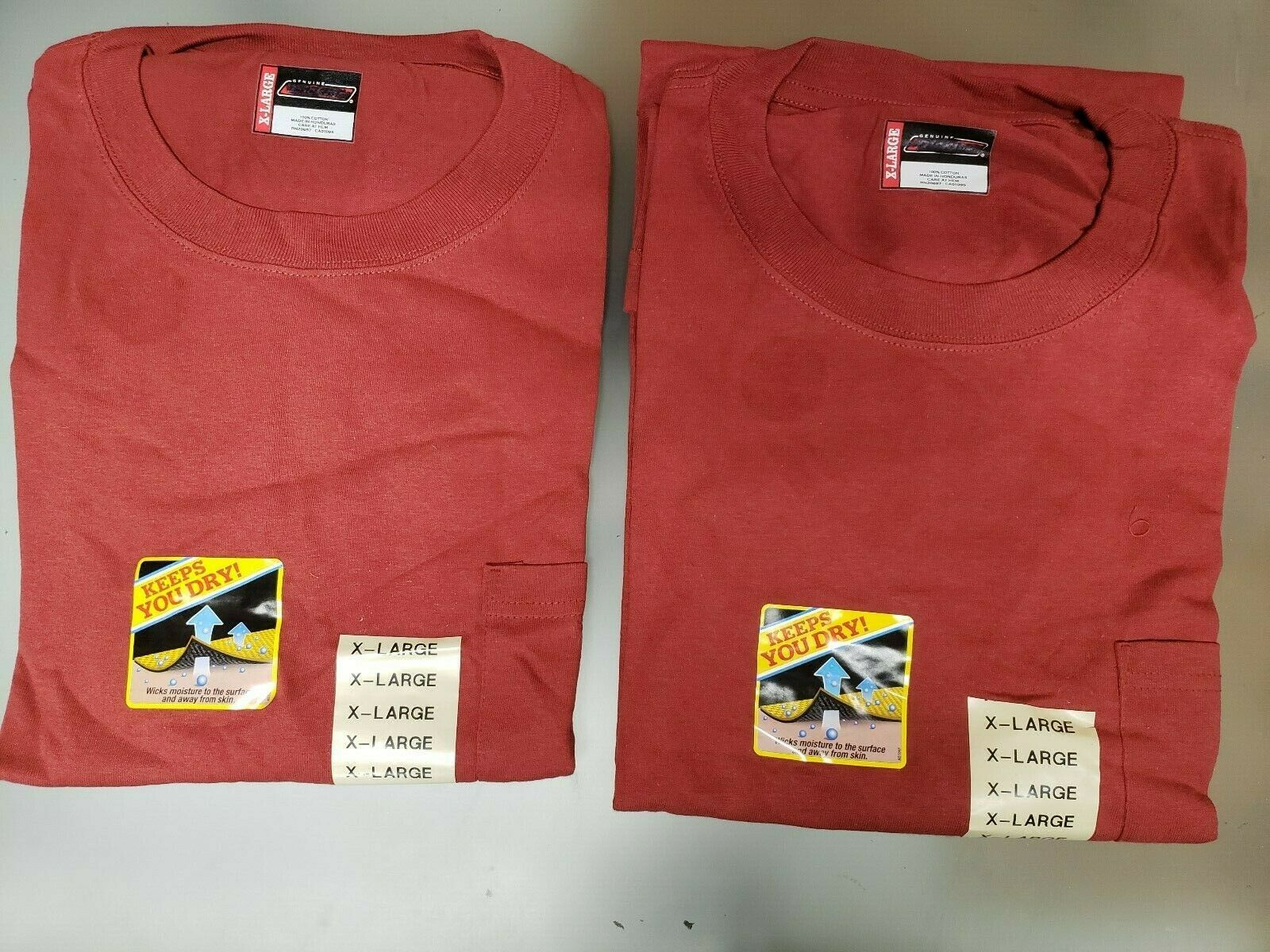 2 PACK Dickies Mens T shirt Short Sleeve Pocket Tee Heavy We
