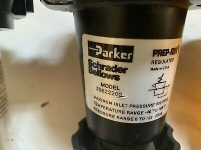 035622200 Air Pressure Regulator Parker Schrader Bellows