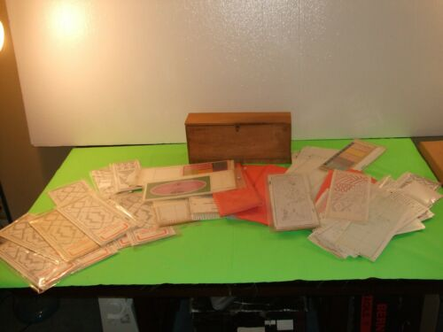 Large lot Blank/Punched Punch Cards for Knitting Machine Brother Singer Toyota