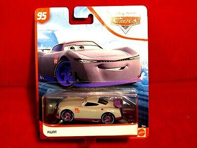 2019 Disney Pixar Cars 3 Kurt 95 Rust-eze Racing Center Diecast Racer Free S&H