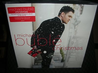 Michael Buble    Christmas   Brand New Sealed Red Colored Record Vinyl Lp