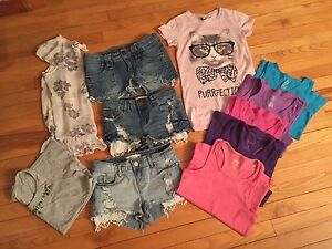 Girls summer clothes --size 10/12