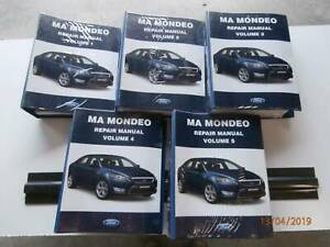 Ford Mondeo MA Genuine Repair Manual Tarago Goulburn City Preview