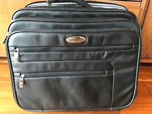 Samsonite Classic Leather Wheeled Office/Travel Case