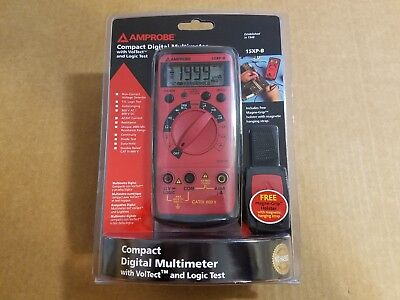 Amprobe 15xp-b Compact Digital Multimeter-brand New