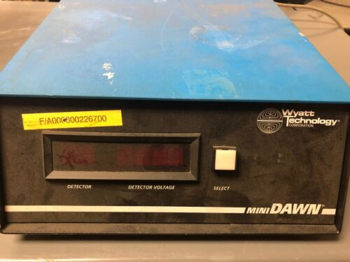 Wyatt Technology Mini Dawn Laser Light Scattering Photometer MD-30
