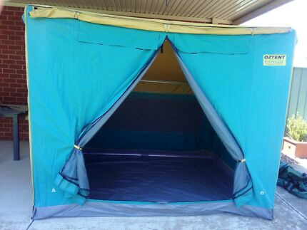 OZTENT THE 30 SECOND TENT  DISCOVERY  (inc Ground Cover u0026 Fly) & NEW Oztent RV5 30 Second Tent | Camping u0026 Hiking | Gumtree ...