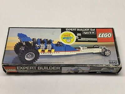 LEGO Expert Builder Set 8847 Top Fuel Dragster with box for parts