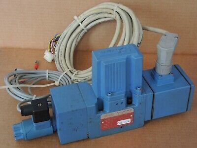 Netstal Moog D661z2742g P80hxapfnea2 Hydraulic Servo Jet Valve With Cables