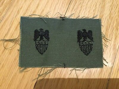 Aide To Major General Collar Badge Patch Insignia Vietnam Era