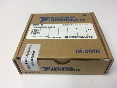 New - National Instruments Ni 9215 4 Ch -10v Analog Input Module Cdaq Crio