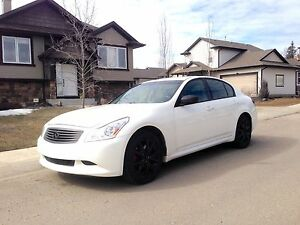 Infiniti G37xS awd and sport very fast and Lux.