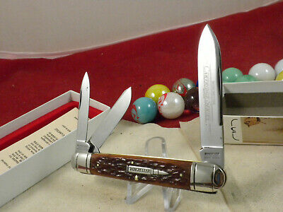 WINCHESTER 39101 LARGE WHITTLER KNIFE MINT IN ORIGINAL BOX 270 CARTRIDGE SHIELD