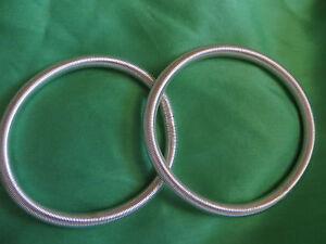 2x Armband Ärmelhalter Blusenraffer silberfarben schmal schlicht ca 0,5 cm breit