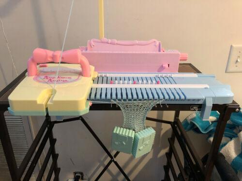 Plastic Toy Knitting Machine
