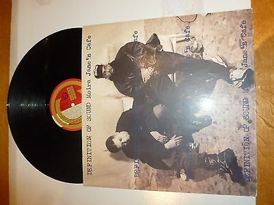 "DEFINITION OF SOUND - Moira Jane's Cafe - 1990 UK 6-track 12"" vinyl single"