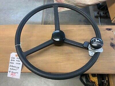 John Deere 650 750 850 950 1050 1250 Steering Wheel W Cap Aftermarket