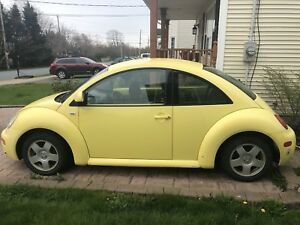 00' VW BEETLE AUTO & GAS - NEW PRICE WANT GONE