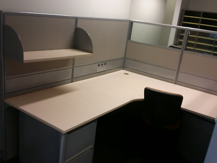 50 CSM Workstations Desks Office Furniture Tables Cabinet Filing