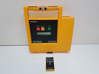Medtronic Lifepak 500t With Remote Control Aed Training Defibrillator Trainer
