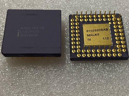 A80C188-12  INTEL CPGA MICROPROCESSOR CPU X 1 PC.