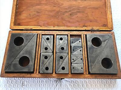 Machinist Tools 10 Sets Tietzmann Step Up Block No. 1-2-3 Usa