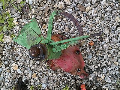 Ford 9n 2n Tractor Steering Gear Box Assembly Acorn Nut Tie Rod Control Holder