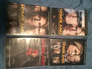 Homeland season 1-4 dvd