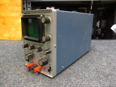 Leader Lbo-310a Oscilloscope Powers On Untested Parts Only As Is
