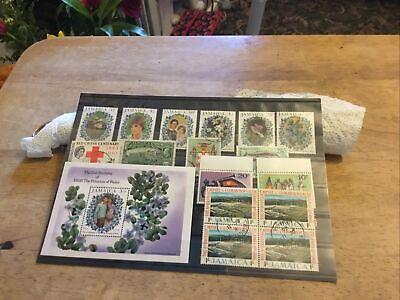 Jamaica Mixed Stamps Lot