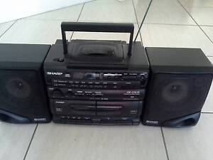 Sharp GX-CD130 portable stereo/boombox Thornlands Redland Area Preview