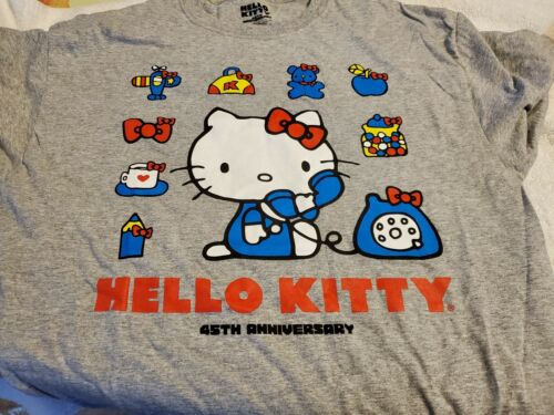*Loot Crate Exclusive* Sanrio Hello Kitty 45th Anniversary T shirt Tee Medium
