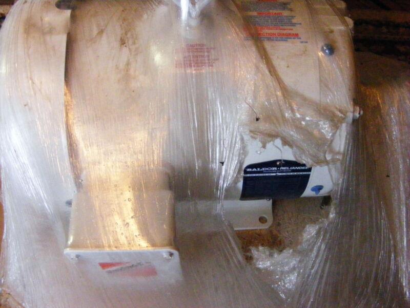 BALDOR AC MOTOR- 7 1/2HP- WASHDOWN DUTY- NEW IN WRAP