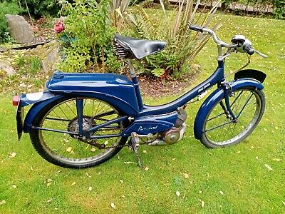1967 Raleigh RM6 Moped.